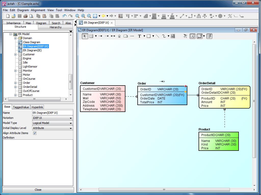 Diagramas er conhea as 5 ferramentas que iro facilitar a sua vida diagrama er com astah ccuart Image collections