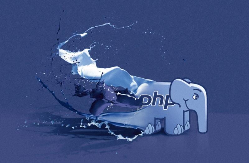 La imagen muestra el ElePHPante, la mascota del lenguaje de programación PHP